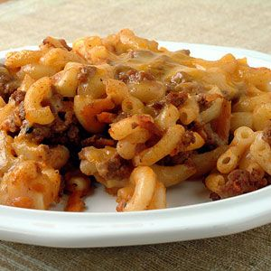 Beef, Cheese and Noodle Bake (approx 1.5c)