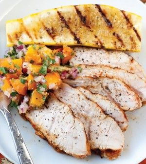 Turkey Tenderloin with Apricot-Ginger Relish