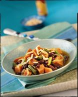 Caribbean Sweet Potato and Bean Stew - Slow Cooker