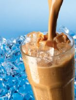High Protein Vanilla Caramel Frappuchino