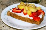 Pineapple Breakfast Sandwhich