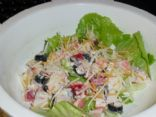 Quickie Imitation Crab Salad