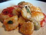 Gnocchi with Tomatoes, Basil and Parmesan