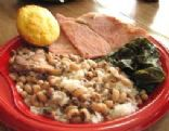 Black-Eyed Peas and Hog Jowl or Ham Hocks