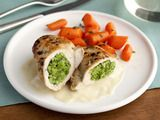 Image of Stuffed Chicken Divan With A Sherry Dijon Sauce, Spark Recipes