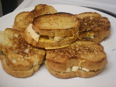 Mini Grilled Cheese Sandwiches Recipe | SparkRecipes