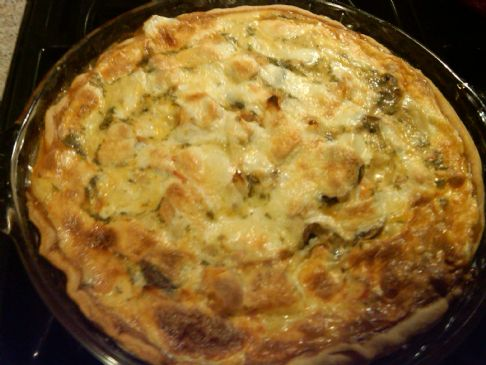 Shrimp and Crab Quiche