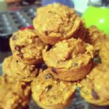 Loaded Pumpkin Muffins