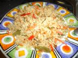 Basmati Brown rice with frozen vegetables