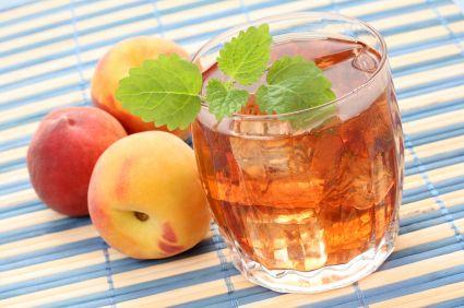 Peachy Thyme Lemonade