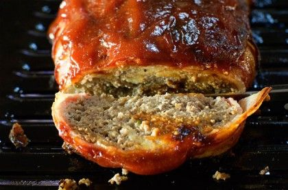 BBQ Bacon Turkeyloaf