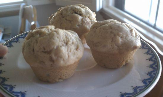 Sinless Banana Muffins
