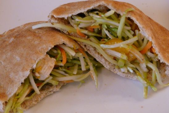 Chinese Chicken Salad Pitas