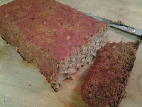 Vegan Beet Loaf