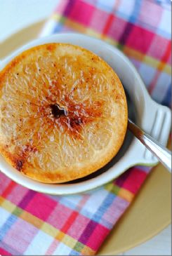 Maple brown sugar grapefruit