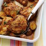 Roasemary Roasted Chicken with Potatos-McCormick