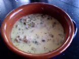 Atkins Approved Creamy Mini-Turkey-Meatball Soup