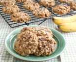 Banana Chocolate Chip Oatmeal Cookies