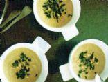 Celeriac & Hazelnut Soup