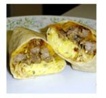 Mountain Pie Breakfast Wrap (Camping)