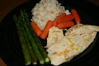 Slow Cook Foil Pack Tilapia