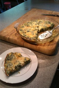 Crustless Veggie Quiche