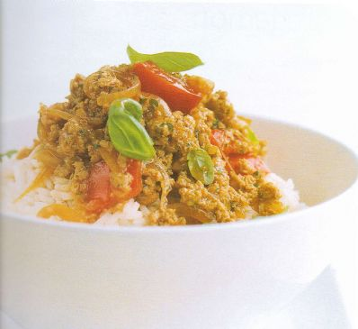 Thai Style mince with Fragrant Rice