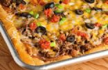 Taco Pizza (Using Reduced-Fat Crescent Rolls)