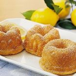 Mini Lemon Bundt Cake