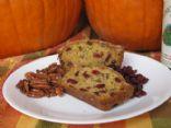 Cranberry-Orange-Pecan Zucchini Bread