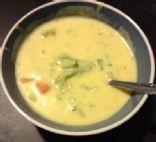 Broccoli Cheese Soup x