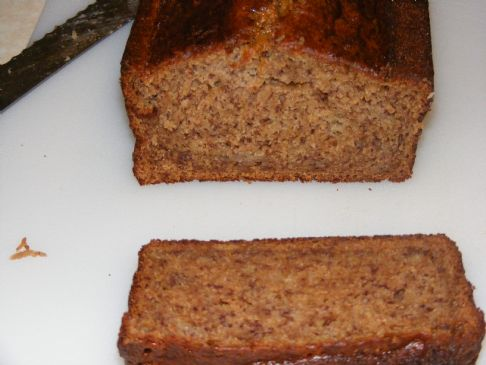 Greek Yogurt and Applesauce Banana Bread Recipe | SparkRecipes