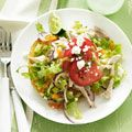 Chicken Tostados with Avacado