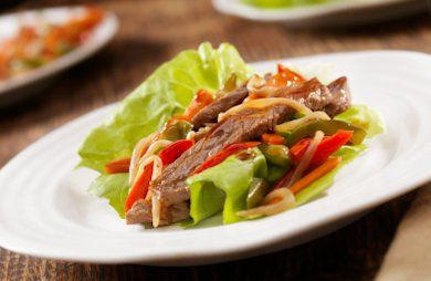 HCG Ground Beef Tacos/ Lettuce Wraps