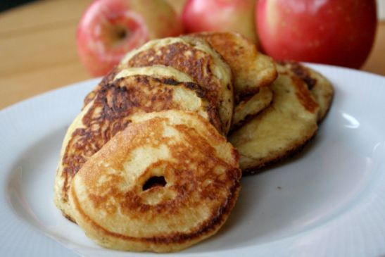 Apple Pancake Rings (Grain-Free, Low-Carb-ish)