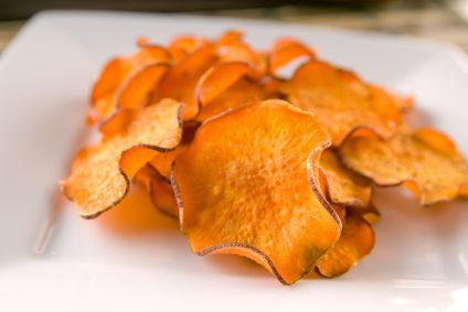 Sweet Potato Chili Chips