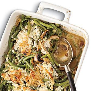 Thanksgiving Green Bean Casserole 