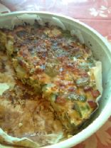 Green Pepper Quiche