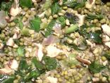 Mung Beans in Coconut Milk