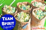 Team Spirit Popcorn (Rainbow Jello Popcorn)