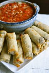 Baked Southwestern Egg Rolls