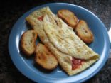 Salsa & Cheese Omelet
