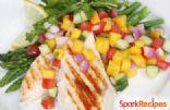 Grilled Chicken with Fruity Salsa