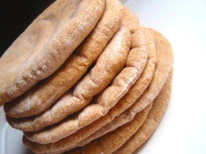 Whole Wheat Pita Pockets 1/2 Pita Recipe | SparkRecipes
