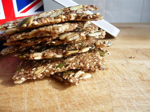 Nanna's Seed Crackers LCHF