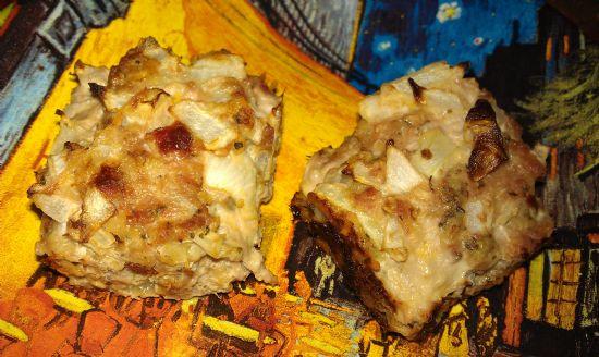 Turkey Parmesan Muffins