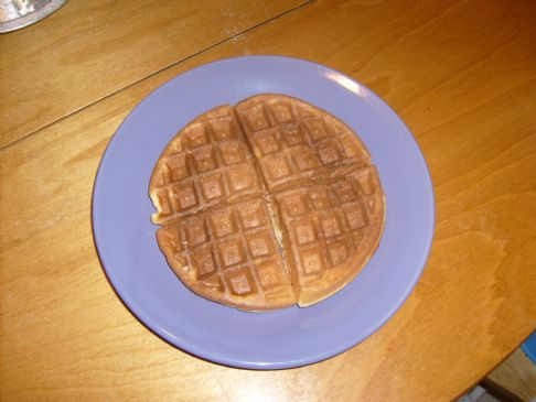 Whole Wheat Waffles or Pancakes