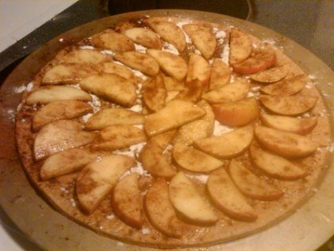 Apple Pizza Pie Recipe | SparkRecipes
