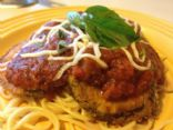 Lowfat Eggplant parmesan