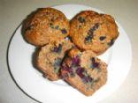 Robin's blueberry bran muffins